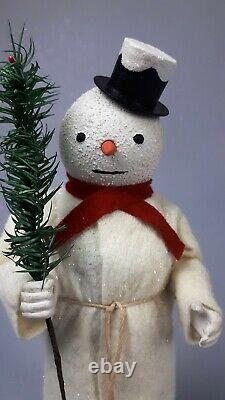 10,6Paper macheGerman Snowman Candy Containerby Paul Turner HNY21-022