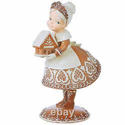 13 RAZ Gingerbread Cookie Mrs Claus Retro Vntg Style Christmas Figurine Decor
