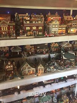 180+ Piece Christmas VIillage