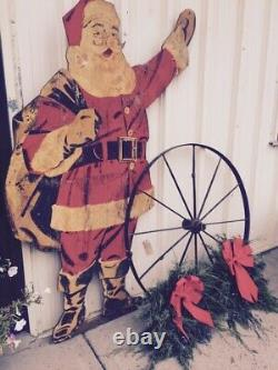1940s Vintage lLife Sized Santa Claus
