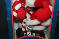 1996 Mickey Mouse Santa's Best Animation Disney Animated 20 Figure NEW & RARE