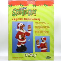 1999 Motion Musical Hanna Barber SCOBBY DOO Santa, Jingle Bell Rock