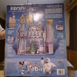 2001 Playing Mantis Rudolph & the Island of Misfit Toys Santa's Castle NRFB