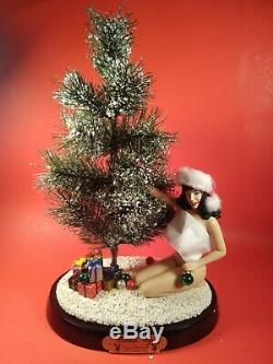 2002 Playmate Collection Bettie Page Trimming Christmas Tree Circa 1954