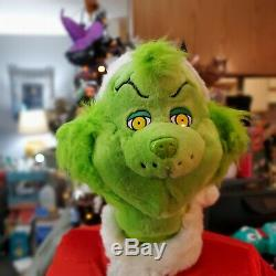 2004 Gemmy Dr. Seuss The Grinch Animated Dancing Life Size 5' Microphone