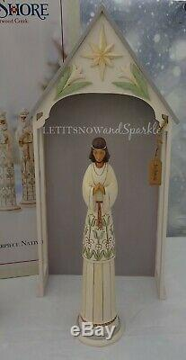 2019 NIB Signed # by Jim Shore A Time For Joy Nativity Set 10pc 20 Limited Ed