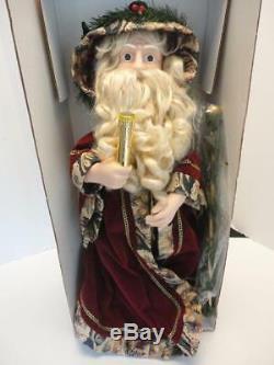 24 Telco Motion-ette Animated Figure FATHER CHRISTMAS SANTA Looks Unused NM