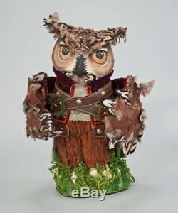 28 728620 katherines collection 13 into the woods owl christmas tree topper