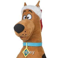 3 Ft Animated SCOOBY DOO IN SANTA HAT Sings 3 Songs CHRISTMAS PROP