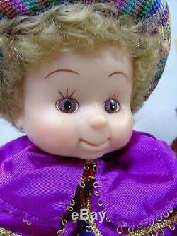3 Vintage Animated Santa's Best Wiseman Undercover Kids s157