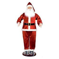72 Life Size Animated Dancing Santa Christmas Holiday Decot