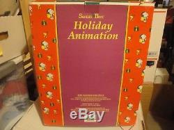 Animated Collectible Santas Best Snoopy Ice Skating Peanuts