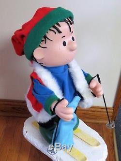 Animated Santas Best Christmas Peanuts Character Linus App 23 Elec Adapter inc