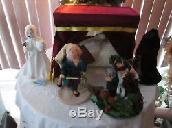 Annalee Dicken's Scrooge The Christmas Carol Series Complete Set +2 Carolers