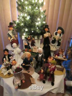 Annalee Dicken's The Christmas Carol Series 10 White Ghost of Christmas Past