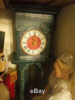 Ballerina & Nutcracker Clock Movement Made By Seiko 1988 Christmas Animated