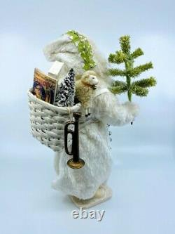 Bethany Lowe Designs Christmas Winter St Nick Container, Belsnickel, #TD-9027