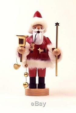 Brand New Kwo Erzgebirge German Incense Smoker Santa 8