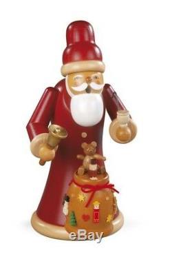 Brand New Muller Smoker Smoking Man Santa Giving Out Christmas Presents Large