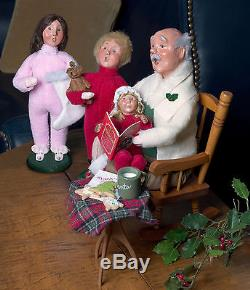 Byers Choice Night Before Christmas 4 Piece Set New For Christmas 2017