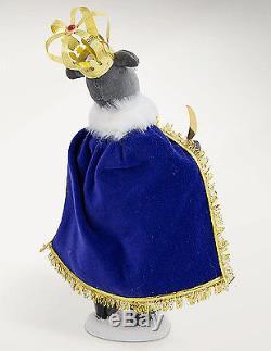 Byers Choice Nutcracker Ballet 3-piece Set Clara Mouse King Nutcracker