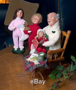 Byers' Choice The Night Before Christmas Set of 5 New 2017 Carolers