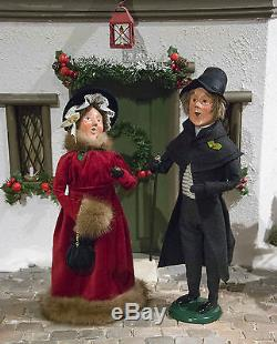 Byers Choice Young Ebenezer Scrooge & Belle New For Christmas 2017