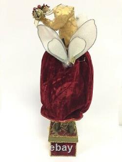 Canterbury Friar Fairy Stocking Holder 51-82264 Mark Roberts 21 Large Santa Elf