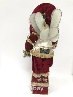 Christmas Dove Fairy Stocking Holder 51-76034 Mark Roberts 20 Large Santa Elf