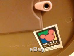 Christmas Motionette Disney Mickey Minnie Mouse 1996 Santa's Best Animated RARE
