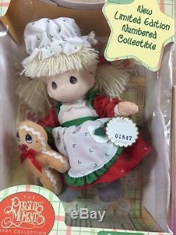 Christmas NOS Precious Moments Santa Claus & Mrs. Claus NUMBERED Ltd. Ed