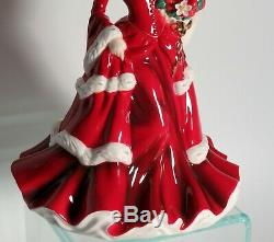 Christmas Pretty Ladies 2008 Royal Doulton Figurine HN 5232 Limited Production