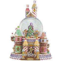 Christopher Radko Sweet Village Surprise Snow Globe Christmas Candy 2012937