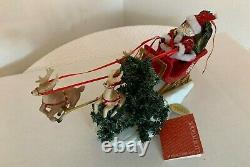 Clothtique Santa Possible Dreams On Donner, On Blitzen
