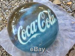 Coca Cola Polar Bear Bowling Ball Collector Brunswick Viz-a-ball 12 Lb Undrilled