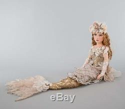 Collectible Mermaid in Shell Katherines Collection 28-728481 & 08-785609