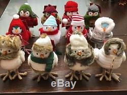 Complete New Target 2017 Holiday Set of 12 Wondershop Birds Free Shipping