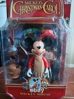 Complete Set Memory Lane Mickey's Christmas Carol Includes bonus pieces