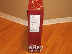 Costco Vintage Style Christmas Carolers Set Man Woman Boy Lighted Lamppost NEW