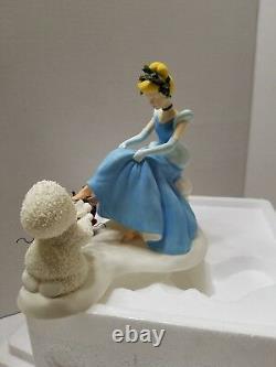 DEPT 56 SNOWBABIES Cinderella If the Shoe Fits Guest Series Disney
