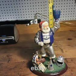 Danbury Mint Dallas Cowboys Santa Claus Figure 2000