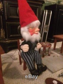 David Hamberger Display Elf Telco motionette Animated Animatronic Figure & props
