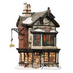 Department 56 Dickens' Village Ebenezer Scrooge's House Lit House