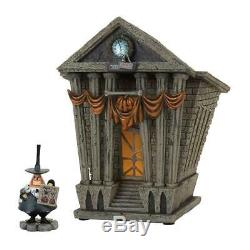 Department 56 Nightmare Before Christmas Village Halloween Town City Hall Lit Ho
