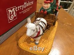 Dept 56 Merry Makers Merrily We Roll Along Carolers & Gabriela the Goat & Box