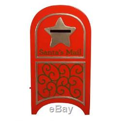 Design Toscano 44 Hand Painted Fiberglass Santa's Continental Holiday Mailbox