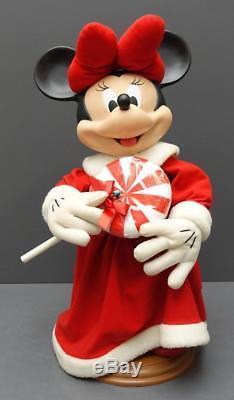 Disney Santas Best Mickey +Minnie Mouse 25 Animated Christmas Display Figures