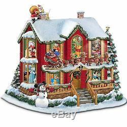 Disney's Night Before Christmas Illuminating Story House