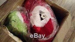 EUC Rare LIFE SIZE 5 FOOT Gemmy GRINCH Animated CHRISTMAS