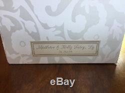EUC with Tags SIGNED Mark Roberts Christmas Large Mistletoe & Holly Fairy & Box